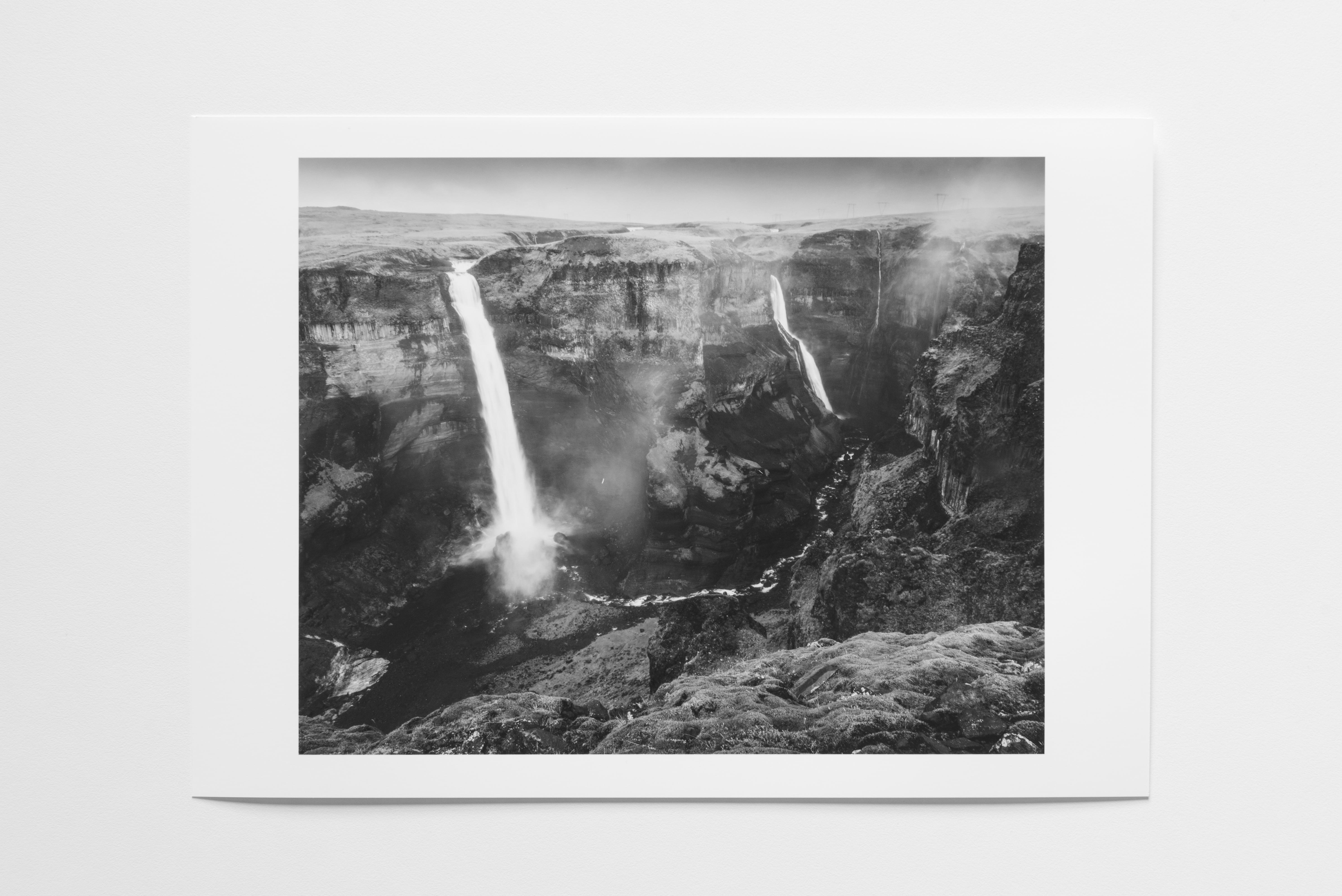 haifoss iceland print