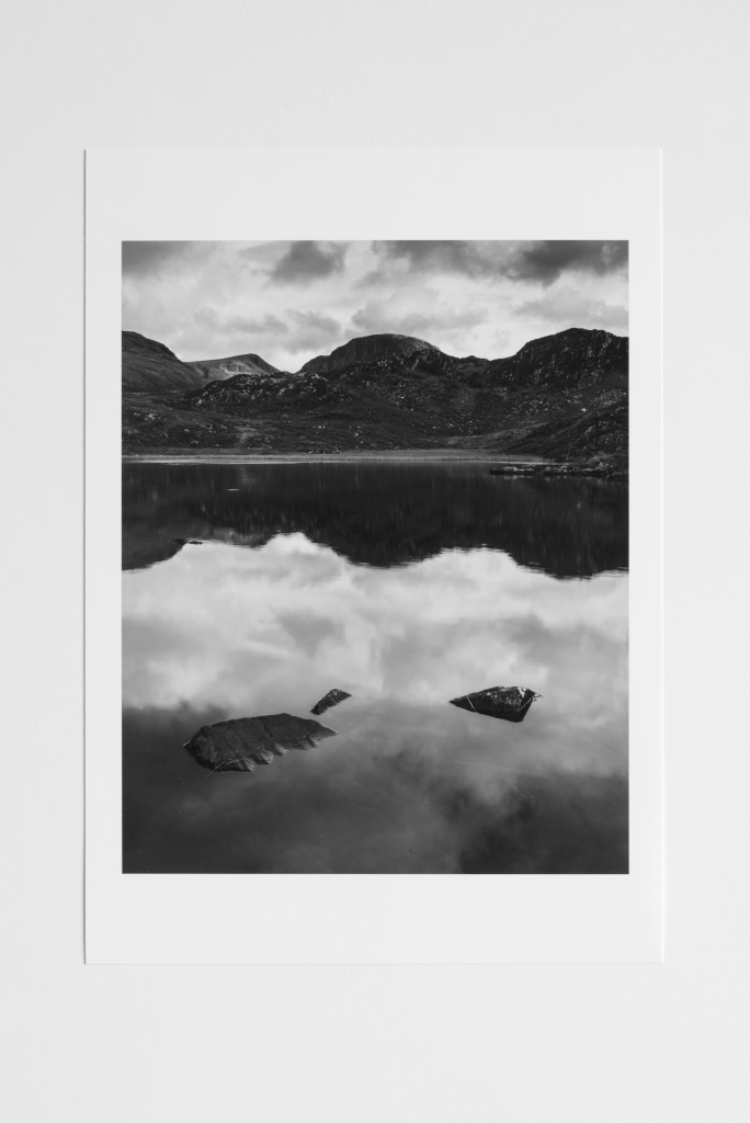 great gable england lake district print