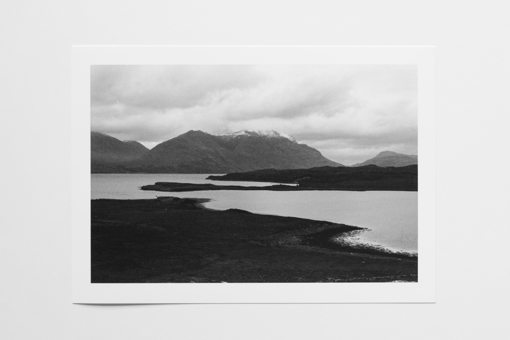loch mountain scotland print