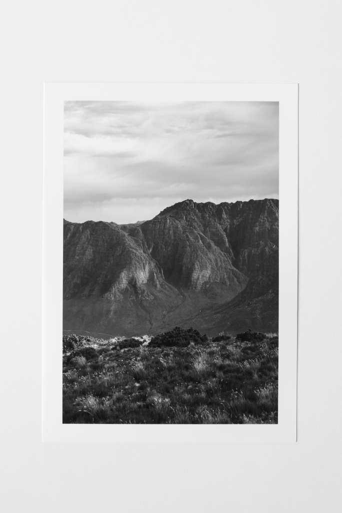 ridges II mountains south africa print