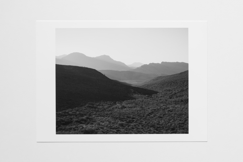 valley in shadow south africa print